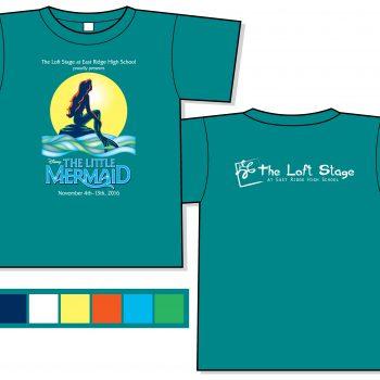 The Little Mermaid Loft Stage 2016